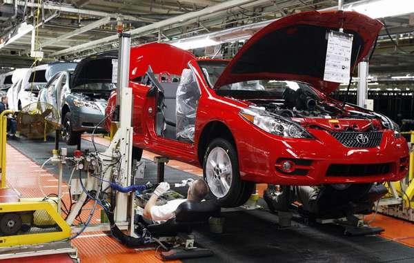 Где производят автомобили Toyota