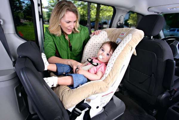 Автокресло для перевозки ребенка