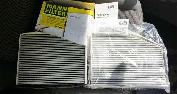 Салонный фильтр Mann Filter
