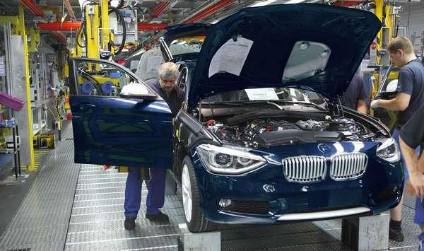 Где производят автомобили BMW