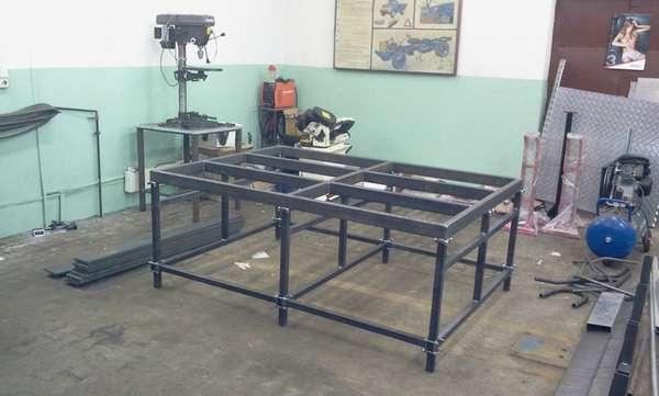 Изготовление стола для сварки своими руками позволяет сделать его под свои потребности