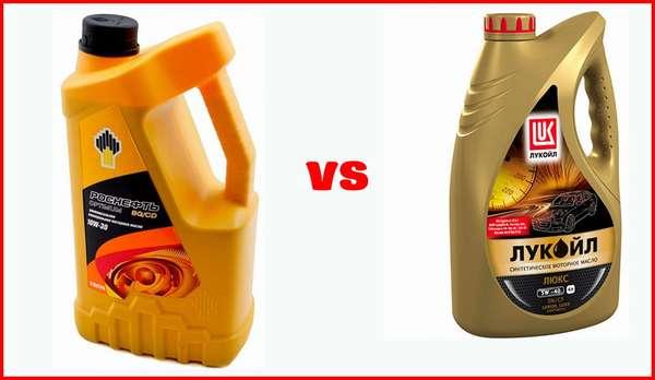 Какое моторное масло лучше: Лукойл или Роснефть