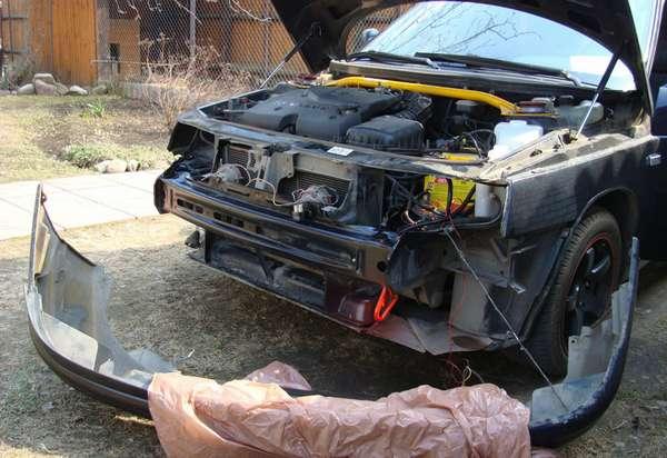 Как снять бампер автомобиля