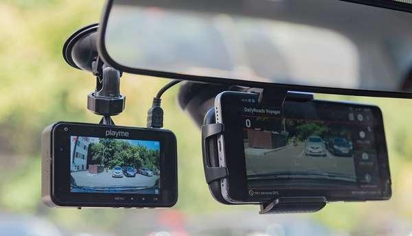Смартфон как видеорегистратор