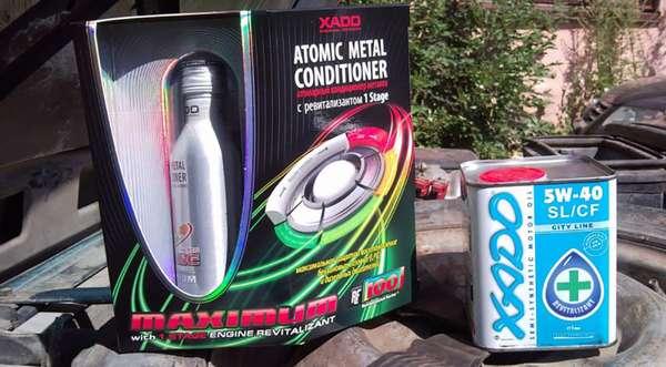 Применение масла XADO 5W-40