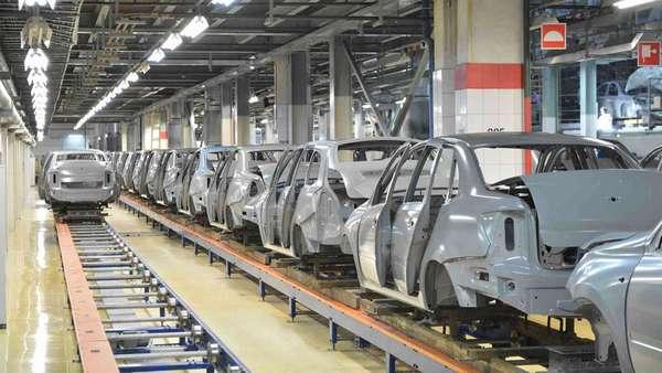Серийное производство автомобилей