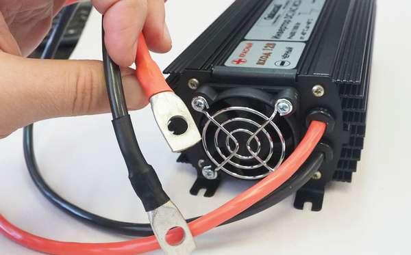 Подключение автомобильного инвертора