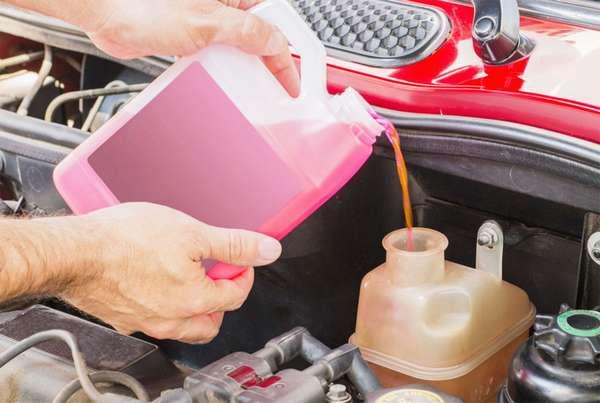 Утечка антифриза из бачка в машине