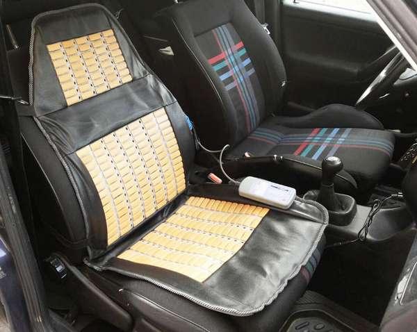 Как выбрать массажную накидку на автомобильное кресло