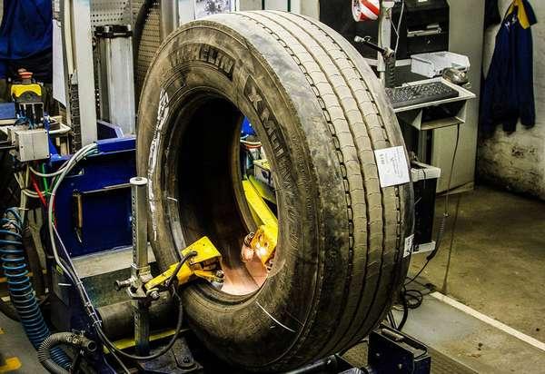 Услуга восстановления шин