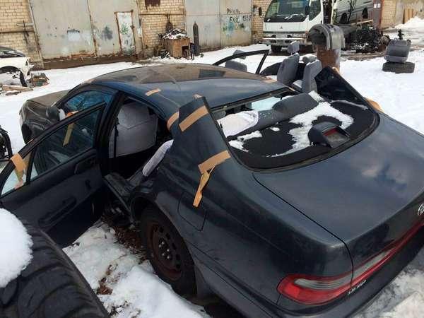 Купленная машина подвергалась распилу