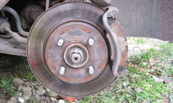 Перегретые тормозные диски