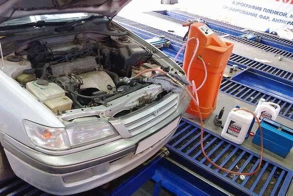 Подготовка двигателя