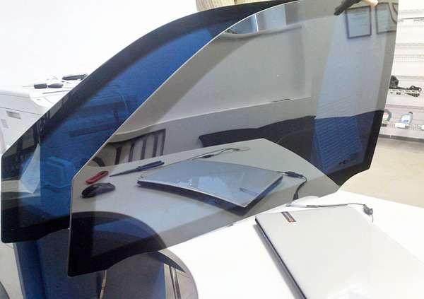 Электронная тонировка автомобильного стекла