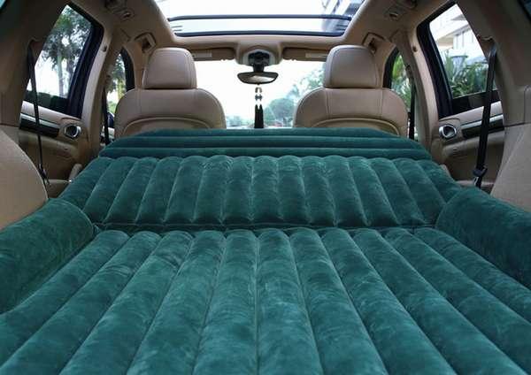 Как выбрать надувной матрас для автомобиля