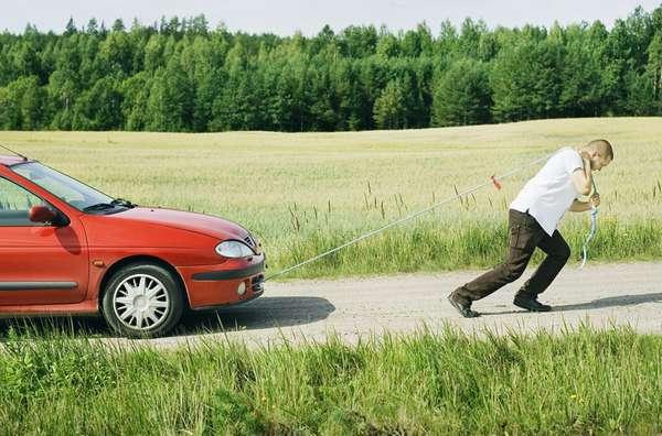 Буксировка транспортного средства