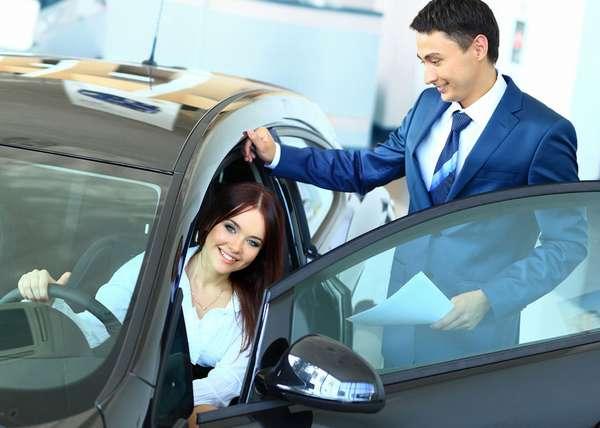 Покупка тестового автомобиля