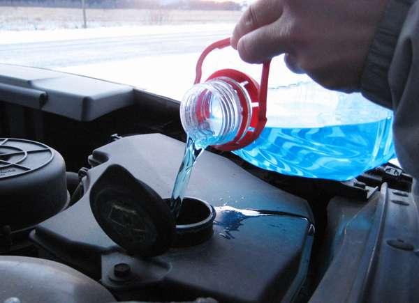 Автомобильная омывающая жидкость