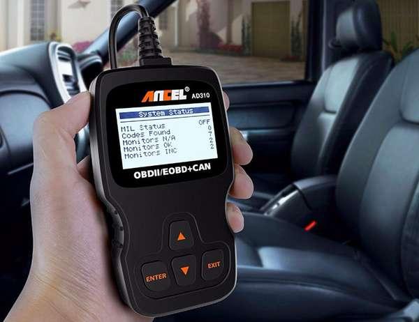 Диагностика сканером авто