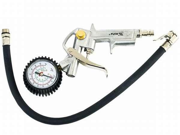 Пистолет для подкачки шин с манометром MTX 573229