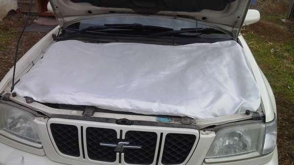 Утеплитель для мотора машины