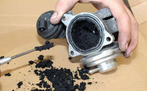 Клапан EGR на дизельном двигателе