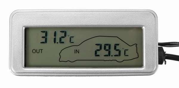 Термометр в машину на батарейках