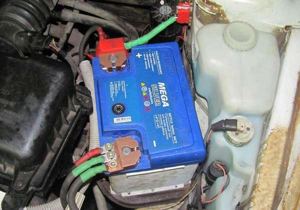 Подключение аккумуляторов в автомобиле
