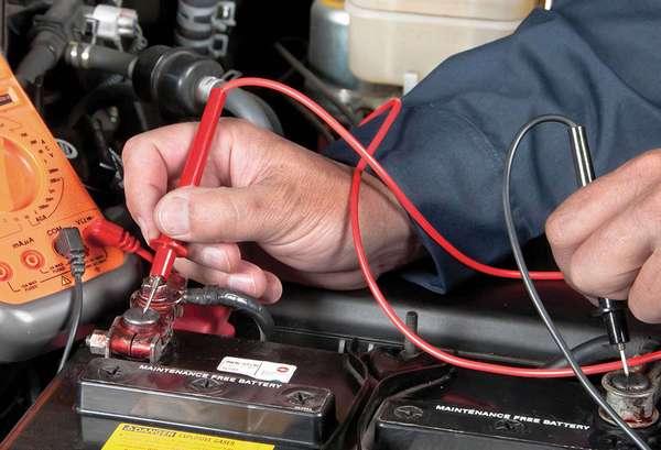 Зарядить аккумулятор автомобиля