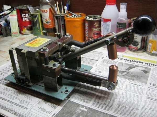 Самодельный аппарат точечной сварки