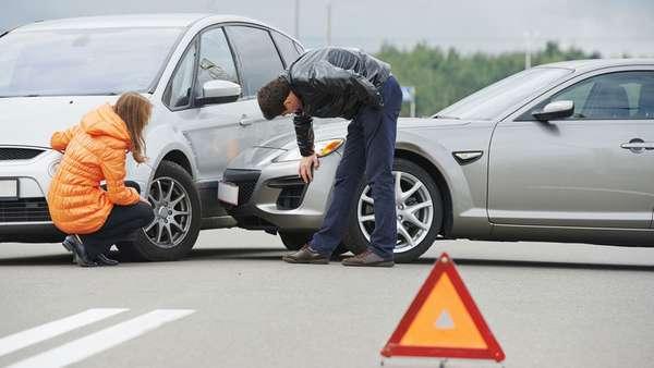 Мелкое дорожно-транспортное происшествие