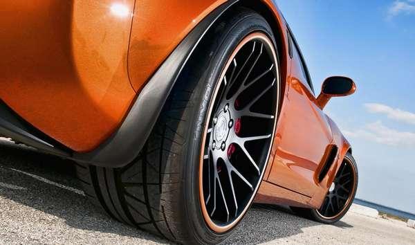 Низкопрофильная резина для автомобиля
