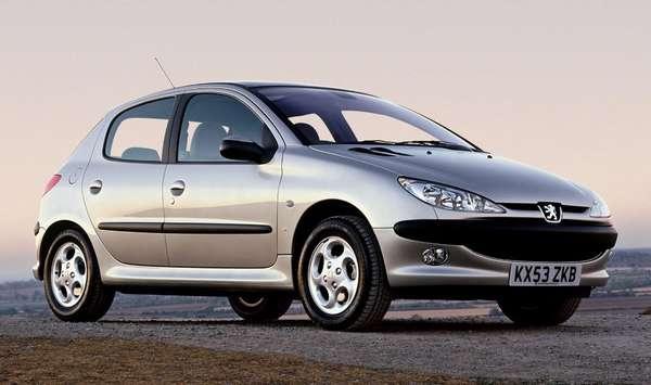 замена масла в Peugeot 206