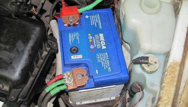 Клеммы автомобильного аккумулятора