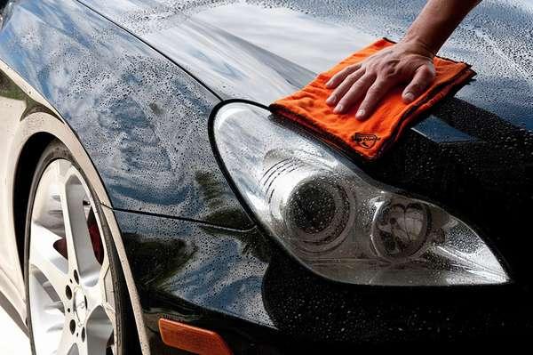 Обезжиривание кузова автомобиля