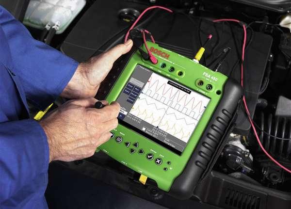 Мотор-тестер для диагностики автомобилей