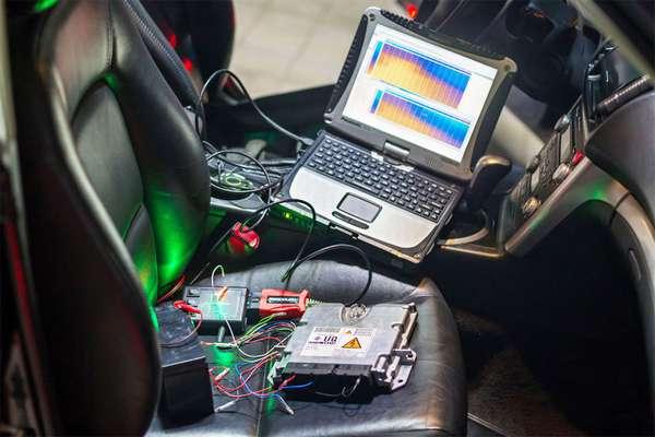 Перепрошивка электроники автомобиля