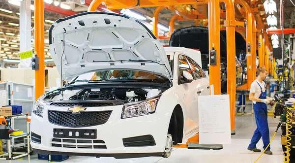 Где производят автомобили Chevrolet