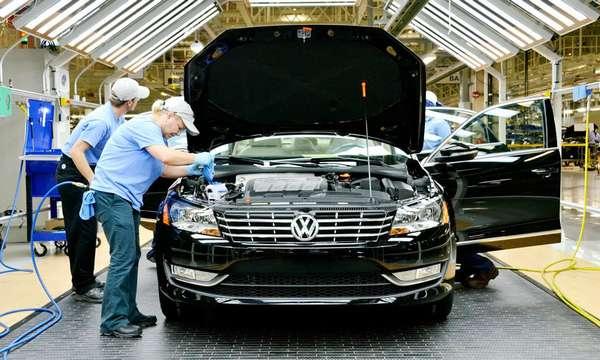 Где производят автомобили Volkswagen