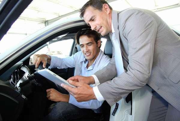 Страховка автомобиля в салоне