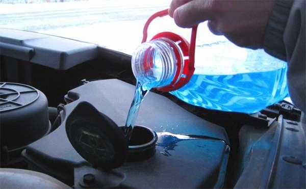 Использование обычного стеклоочистителя