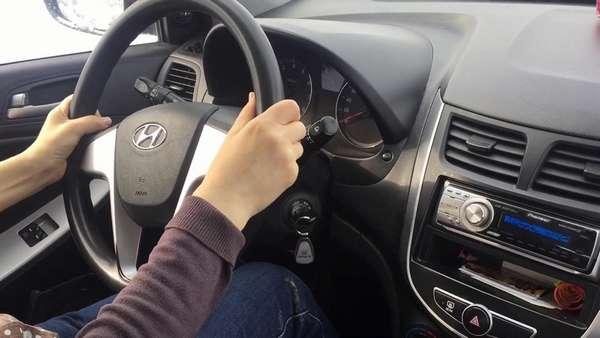 Сдача экзамена на вождение
