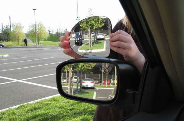 Настройка боковых зеркал автомобиля