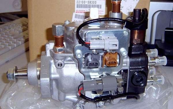Распределительный ТНВД двигателя
