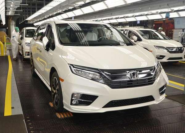 Где производят автомобили Honda