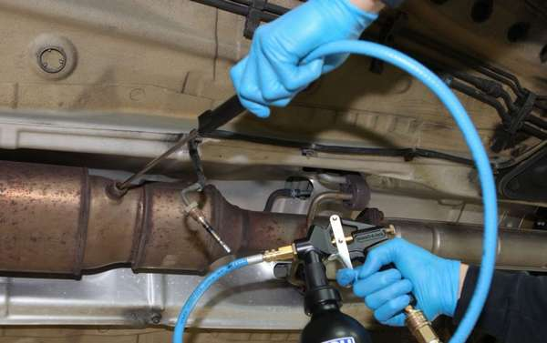 Как прочистить катализатор автомобиля