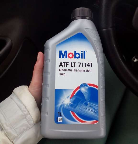 масло Mobil ATF 71141