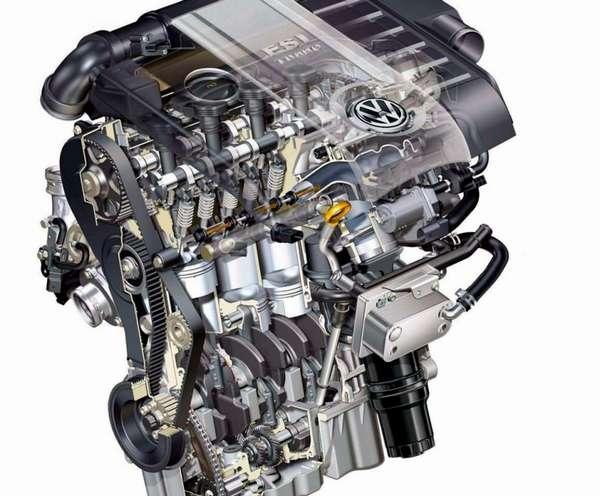 Отличие двигателя FSI от обыкновенного