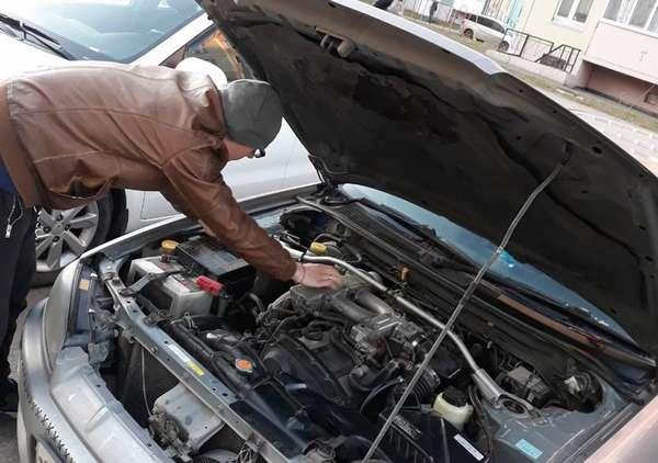 Машина дёргается при нажатии на педаль газа