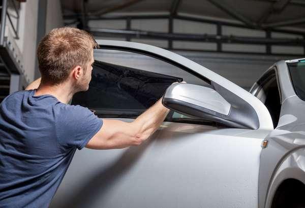 Электротонировка стекла автомобиля